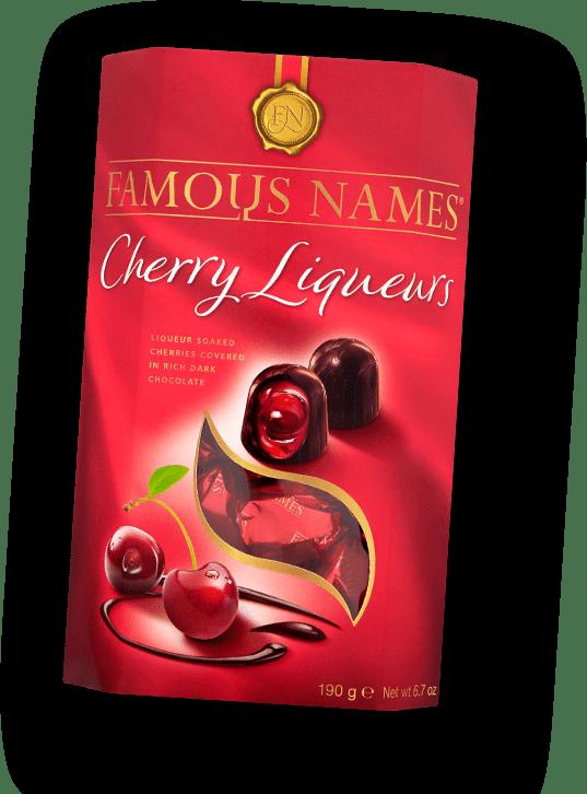 Elizabeth Shaw Famous Names Cherry Liqueurs header pack
