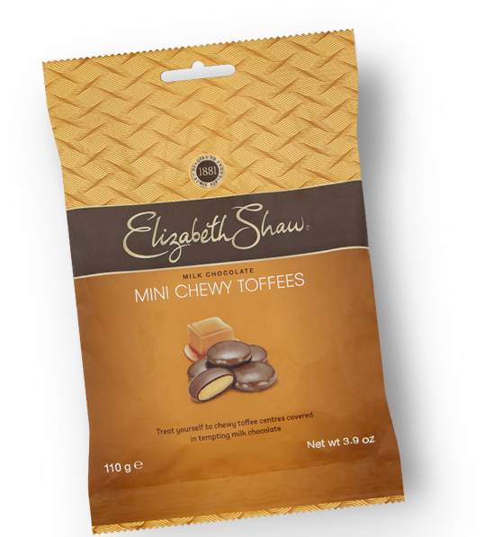 Elizabeth Shaw Mini Chewy Toffees Bag