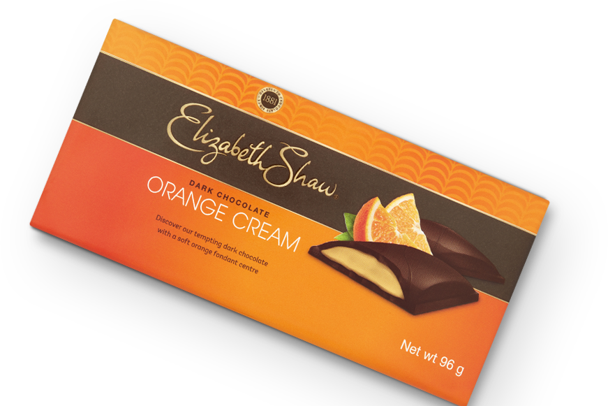 Elizabeth Shaw Orange Cream Bar